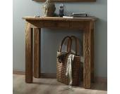 Design-Telefontisch aus Teak Teak Massivholz
