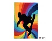 Kinderteppich Maui - Farbenstrudel - 120x180cm, Theko die markenteppiche