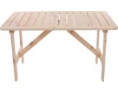 heute-wohnen Gartentisch Holztisch Kopenhagen 130 x 80 cm Gastroqualität