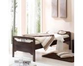 Komfortbett aus Buche Massivholz Einzelbett