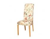 Stuhl mit Blumenmuster Buche Stuhlbeine (2er Set)