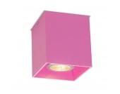 Deckenstrahler Qubo 1 rosa