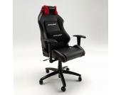 Bürostuhl im Renndesign Rot-Schwarz