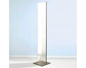 Designer Spiegel mit Garderobenhaken Silber
