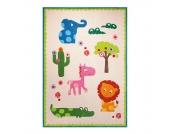 Kinderteppich Zoo - Beige - Maße: 70 x 140 cm, Esprit Home