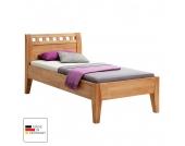 Einzelbett Comfort - Buche massiv - geölt - Liegefläche: 120 x 200 cm, MS Schuon