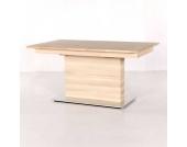 Massivholztisch aus Eiche Auszug