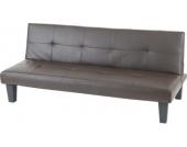 heute-wohnen 3er-Sofa Couch Schlafsofa Mons Kunstleder