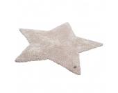 Teppich Soft Star - Beige - Maße: 100 x 100 cm, Tom Tailor