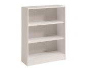 Bücherregal mit 3 Fächern Weiß