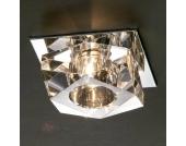 ELECTRA Deckeneinbauleuchte gold