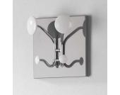 Hängegarderobe in Weiß Grau modern