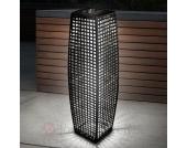 BIG Rattan - eine effektvolle LED-Solarleuchte