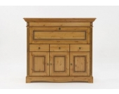 Highboard Barschrank Kiefer massiv