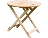 Massivholz Bistrotisch Julia Tisch Gartentisch Holztisch, Gartenmöbel natur