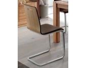 Freischwinger Stuhl Set Eiche geölt