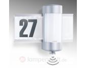 LED-Sensor-Hausnummernleuchte STEINEL L 270 S
