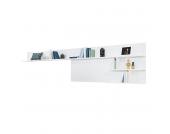 Wandpaneel Beam II - Weiß, Arte M