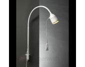 LED-Bettleseleuchte mit Flexarm und rotem Licht