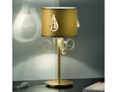 Design-Tischleuchte SAN PIETROBURGO in Gold