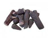 Holzscheit Deko für Ethanol Kaminöfen 6-9 Stück