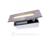 Edelstahl-Bodeneinbauleuchte LINE LED