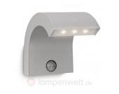 LED-Außenwandleuchte BRUCE 15 cm Bewegungsmelder